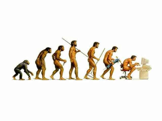 Q: Do you think evolution is