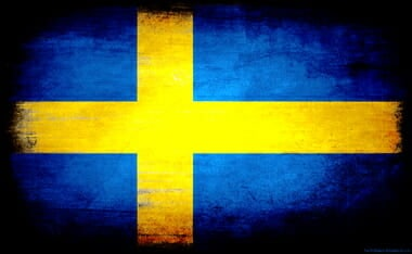 Sweden-Flag-Grunge-Wallpaper