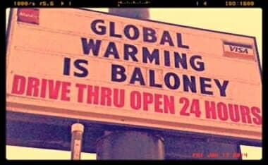 baloney Global Warming Myth