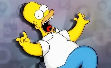 Homer Simpson Crazy Nuts