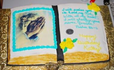 Edible Bible Cake