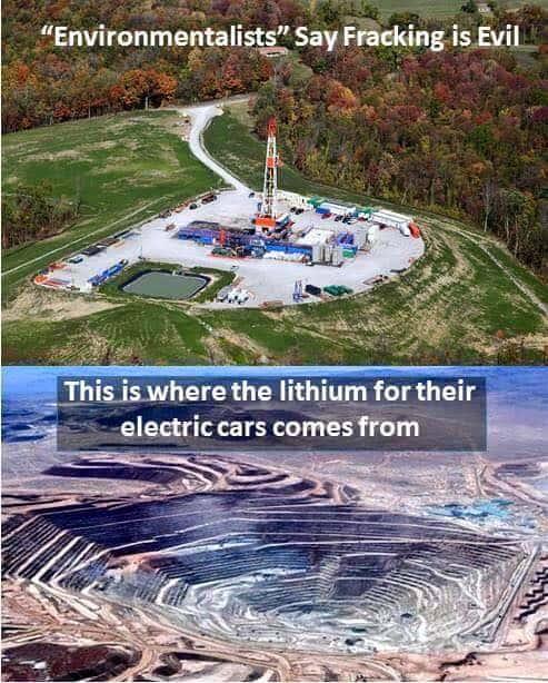 Lithium Fracking