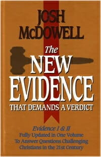 New Evidence Verdict Apologetics McDowell