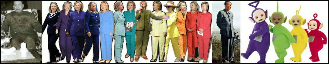 Pantssuit Hillary Mao Pol-Pot