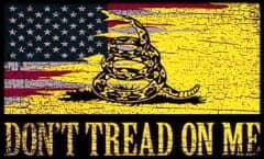 Tread On Me Flag