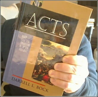 Acts Book Bock