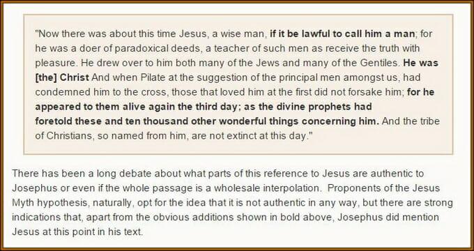 Josephus Atheist Historian