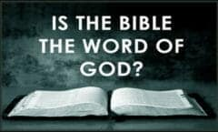 Is-the-Bible-the-word-of-God