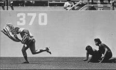 Rick Monday Baseball Flag - 380