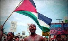 Black Lives Matter Palestine Palestinian Left