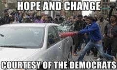 Violent Democrats