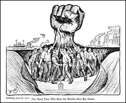 The_hand_that_will_rule_the_world 1917 world worklers